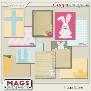 Hoppy Easter JOURNAL CARDS by MagsGraphics