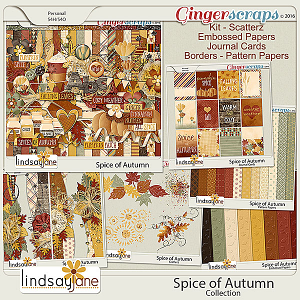 Spice of Autumn Collection by Lindsay Jane