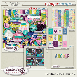 Positive Vibes - Bundle by Aprilisa Designs