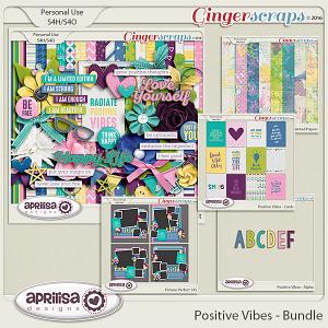Positive Vibes - Bundle by Aprilisa Designs