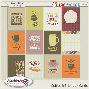 Coffee & Friends - Cards