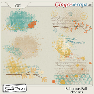 Fabulous Fall - Inked Bits