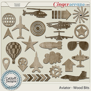 Aviator - Wood Bits