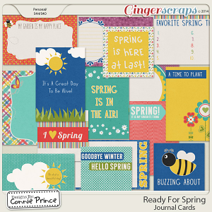 Ready For Spring - Journal Cards