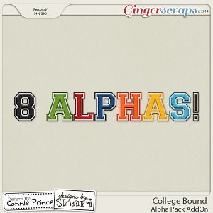 College Bound - Alpha Pack AddOn
