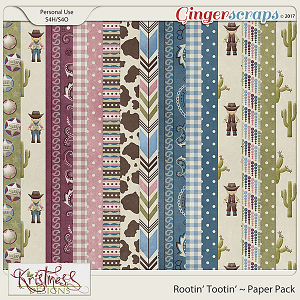 Rootin' Tootin' Paper Pack