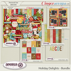 Holiday Delights - Bundle by Aprilisa Designs