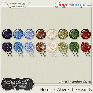 Home Is Where The Heart Is CU Glitter Styles