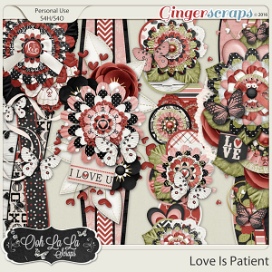 Love Is Patient Page Borders