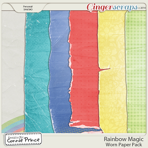 Rainbow Magic - Worn Papers