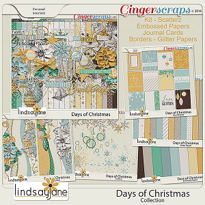 Days of Christmas Collection by Lindsay Jane