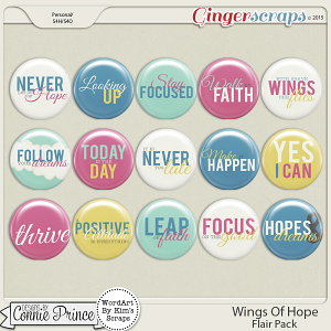 Wings Of Hope - Flair Pack
