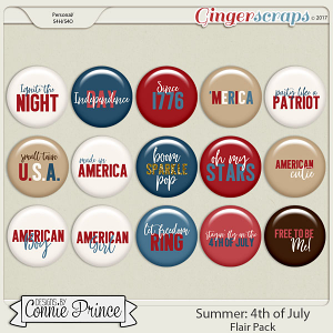 4th Of July- Flair Pack