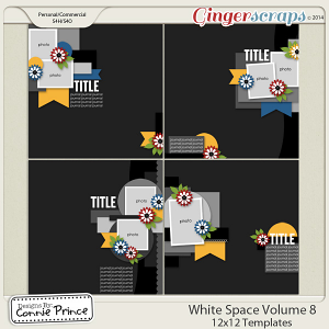 White Space Volume 8 - 12x12 Temps (CU Ok)