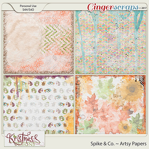 Spike & Co. Artsy Papers