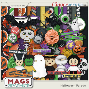 Halloween Parade KIT by MagsGraphics