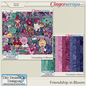 Friendship in Bloom {Bundle Collection} by Day Dreams 'n Designs