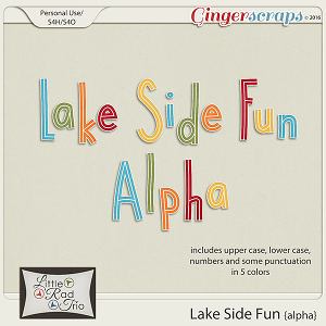 Lake Side Fun {alpha} by Little Rad Trio