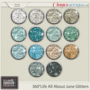 360°Life All About June Glitters by Aimee Harrison