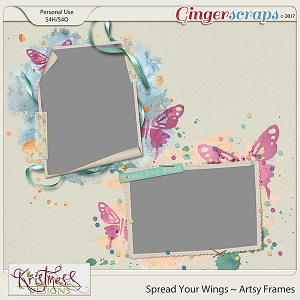 Spread Your Wings Artsy Frames