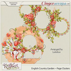 English Country Garden Page Clusters