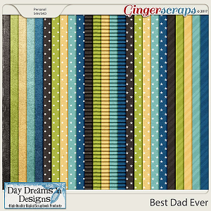 Best Dad Ever {Extra Papers} by Day Dreams 'n Designs