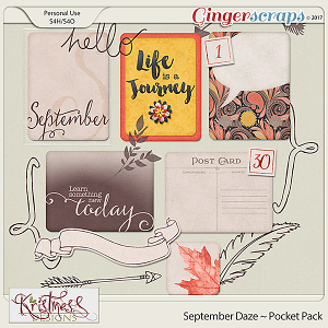 September Daze Pocket Pack