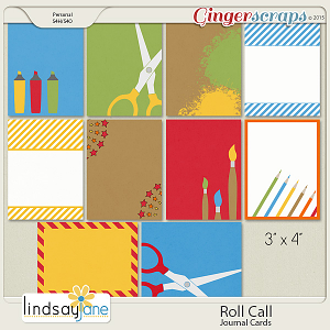 Roll Call Journal Cards by Lindsay Jane