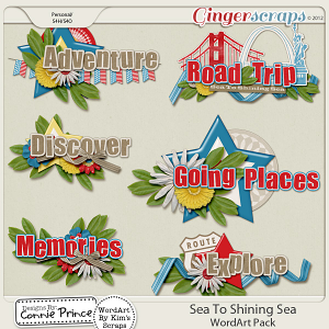 Retiring Soon - Sea To Shining Sea - WordArt