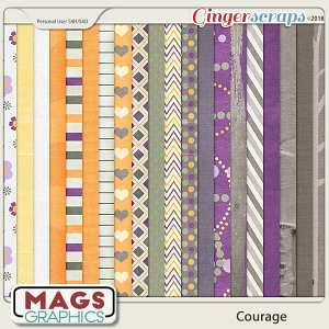 Courage PAPERS by MagsGraphics
