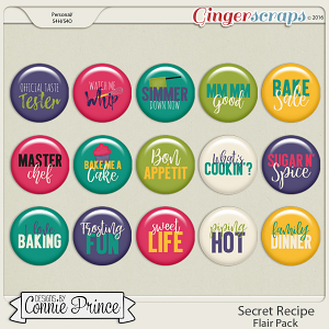 Secret Recipe - Flair Pack
