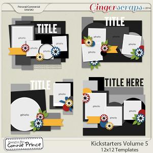Kickstarters Volume 5 - 12x12 Temps (CU Ok)