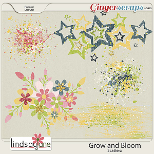Grow and Bloom Scatterz by Lindsay Jane