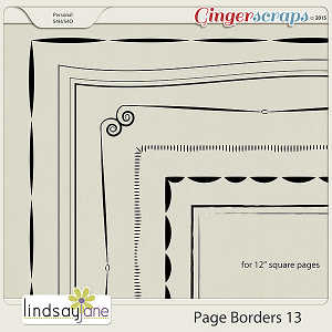 Page Borders 13 by Lindsay Jane