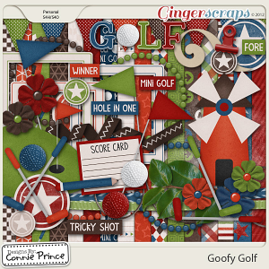 Retiring Soon - Goofy Golf - Kit