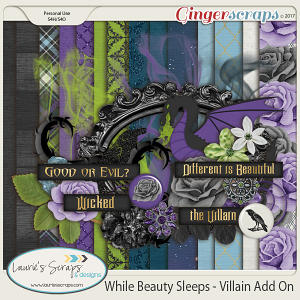 While Beauty Sleeps Villain Mini