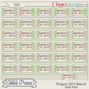 Project 2015 March - Dates
