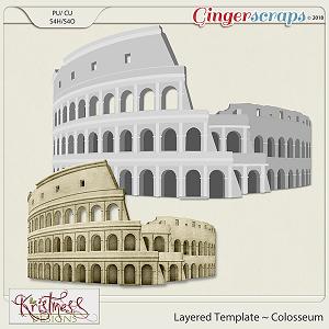 CU Colosseum Layered Template