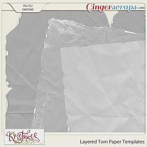 CU Torn Paper Templates