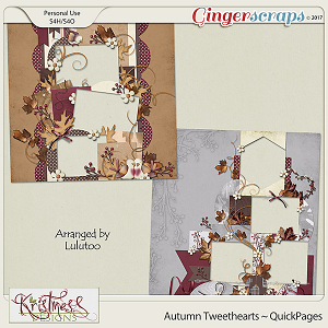 Autumn Tweethearts QuickPages