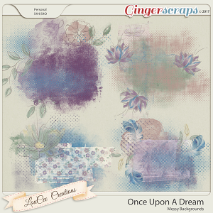 Once Upon A Dream Messy Backgrounds by LouCee Creations