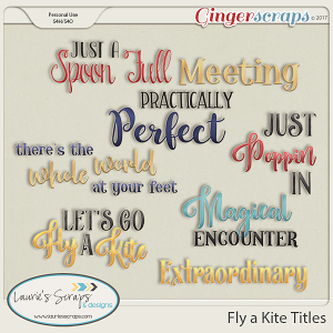 Fly a Kite Kit Titles