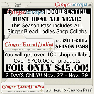 GingerBread Ladies 2011-2015 {Season Pass}