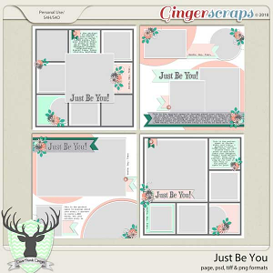 Just Be You Templates by Dear Friends Designs