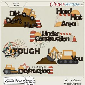 Retiring Soon - Work Zone - WordArt