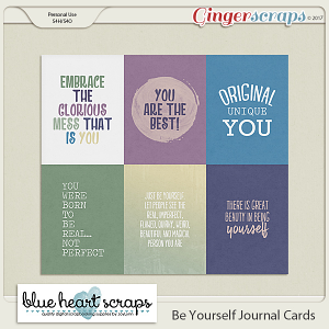Be Yourself Journal Cards