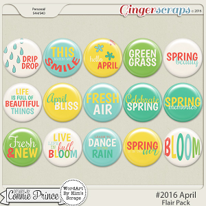 #2016 April - Flair Pack