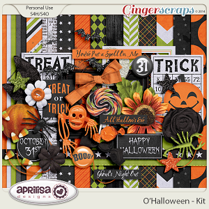 O'Halloween Kit by Aprilisa Designs