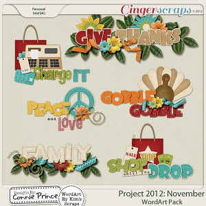 Retiring Soon - Project 2012: November - WordArt