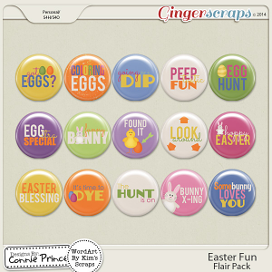 Easter Fun - Flair Pack